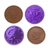 Purple Chocolate Coins - 1 LB Bag
