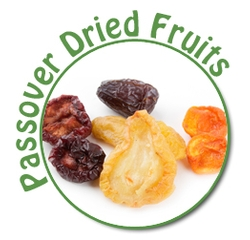 Kosher for Passover Dried Fruits