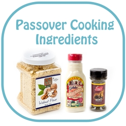 Kosher for Passover Cooking Ingredients