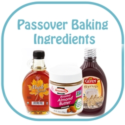 Kosher for Passover Baking Ingredients