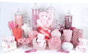 Baby Girl Candy Buffet