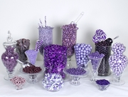 Purple & Lavender Candy Buffet