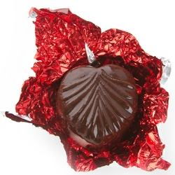 Non-Dairy Red Leaf Chocolate Truffles