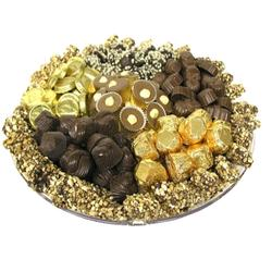 13-Inch Chocolate Lucite Gift Tray