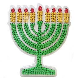 Hanukkah Menorah Tray - Israel Only