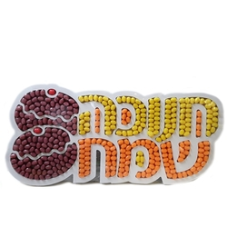 Chanukah Candy Tray - Israel Only