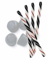 Black Licorice Candy Sticks