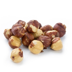 Dry Roasted Salted Hazelnuts (Filberts)