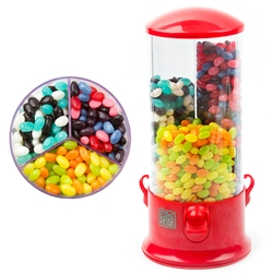 Blast of Fun Jelly Bean Dispenser Candy Machine Gift - Berry, Citrus & Luxury Mixes