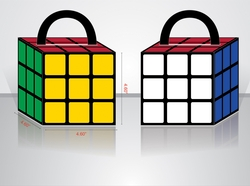 Large Rubik's Cube Boxes - 4 Pack