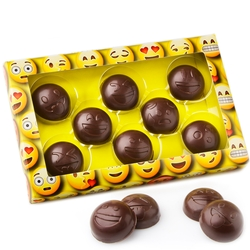Oh! Nuts Emoji Hand Made Chocolate Gift Box