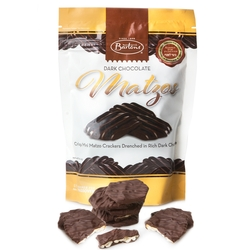 Bartons Dark Chocolate Covered Mini Matzos - 5.5oz Bag