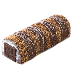 Passover X-Large Decorative Crunchy Chocolate Log