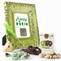 Purim Jasmine Frosted Picture Frame