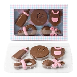 Fun 'Its a Girl' Chocolate Gift Box - 5 CT Chocolates