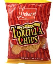 Barbecue Tortilla Chips - 48CT Case