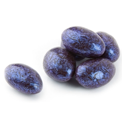 Blue Chocolate Almond Jewels