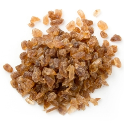 Brown Rock Candy Crystals