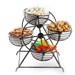 Carousel Snack Nuts and Candy Wheel