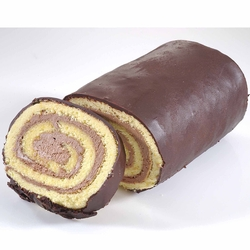 Passover Chocolate Roll Cake