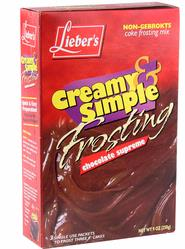 Passover Chocolate Frosting Mix