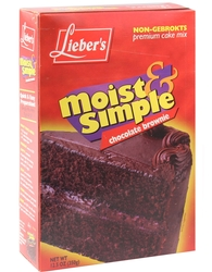 Passover Brownie Cake Mix
