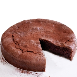 All Natural Flourless Chocolate Truffle Torte - 8-Inch