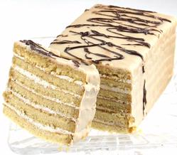 Coffee Seven Layer Cake