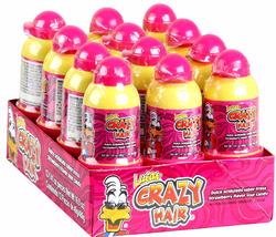 Lucas Crazy Hair Sour Strawberry Candy - 12CT Box