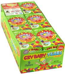 Cry Baby Extra Sour Gumballs Box