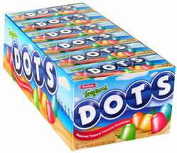 Tropical Dots Gumdrops Candy - 24CT Case