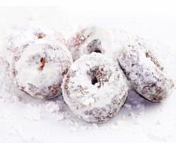 Hanukkah Sugar Dusted Mini Donuts - 6CT