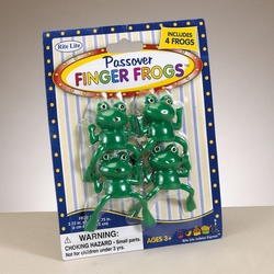 Passover Finger Frogs - Set of 4