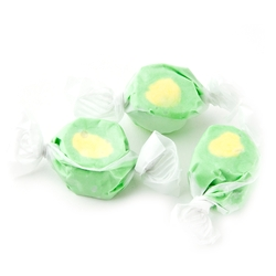 Green & Yellow Salt Water Taffy - Juicy Pear