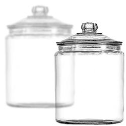 Glass Candy Jars - 1/2 Gallon - 6CT Case