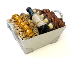 Purim  Chocolate & Nuts Basket - Israel Only