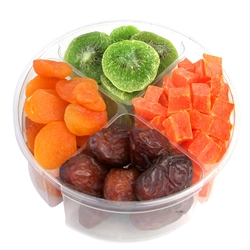 4-Section Tu Bishvat Gift Tray
