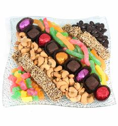 Passover Candy Wavy Glass Tray