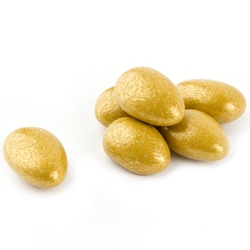 Luster Gold Jordan Almonds