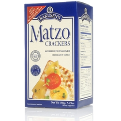 English Matzo Crackers