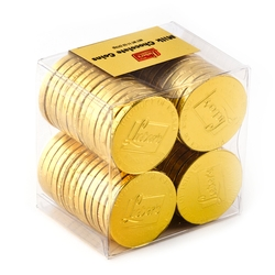 Milk Chocolate Gold Coins - 56CT
