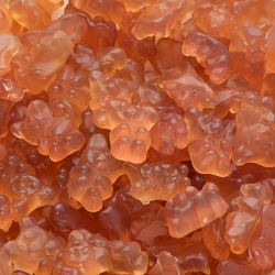 Orange Licorice Gummy Bears