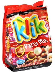Klik Milk Chocolate Party Mix