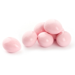 Pastel Pink Chocolate Almonds