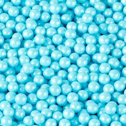 Powder Blue Pearl Candy Beads