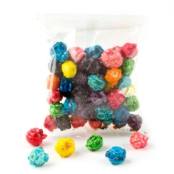 Rainbow Candy Coated Popcorn Snack Pack - 12 Pack
