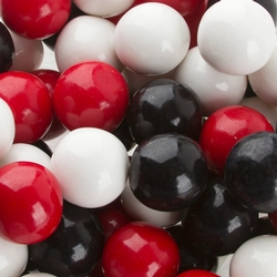 Red, Black & White Gumballs