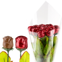 Bouquet of 12 Chocolate Flowers