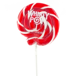 Red & White Whirly Pops