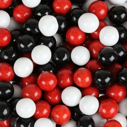 Red, Black & White Sixlets